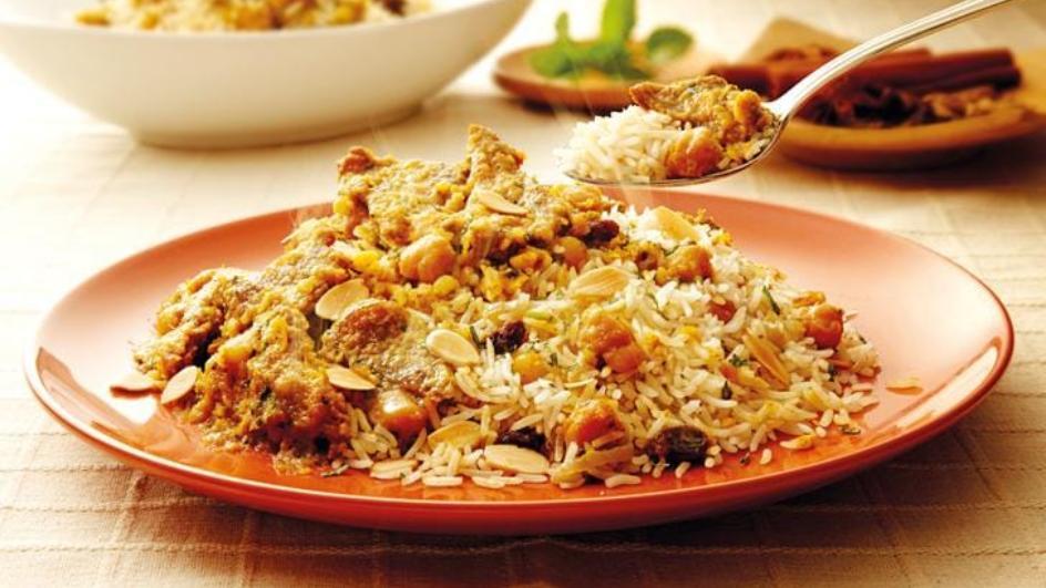 Resipi Nasi Briyani Daging & Kekacang