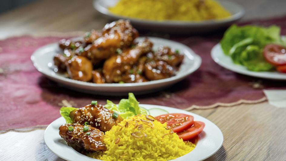 Nasi Ayam Madu