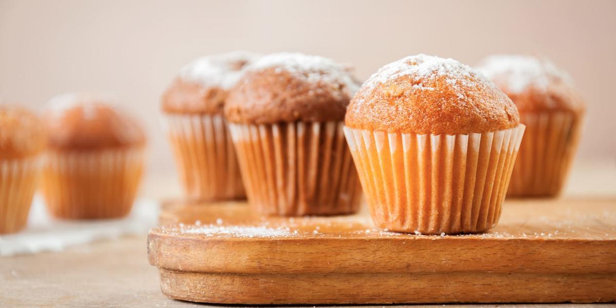 Muffins de arequipe rellenos de queso