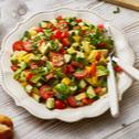 Klassischer Avocado-Salat