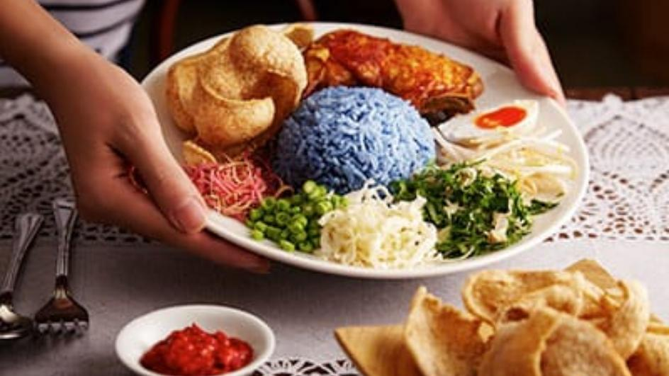 Nasi Kerabu Kelantan