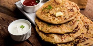 Aamti Dal Parantha Recipe