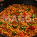 Jollof riz au gras à la cuisson douce