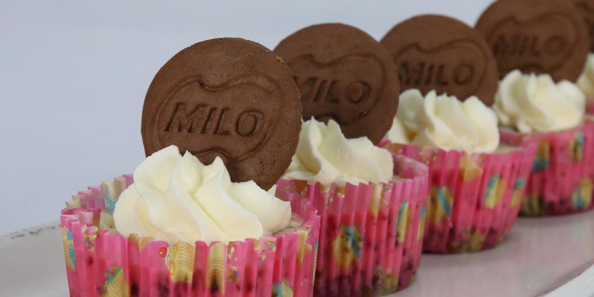 Milo Crunch Cheesecake