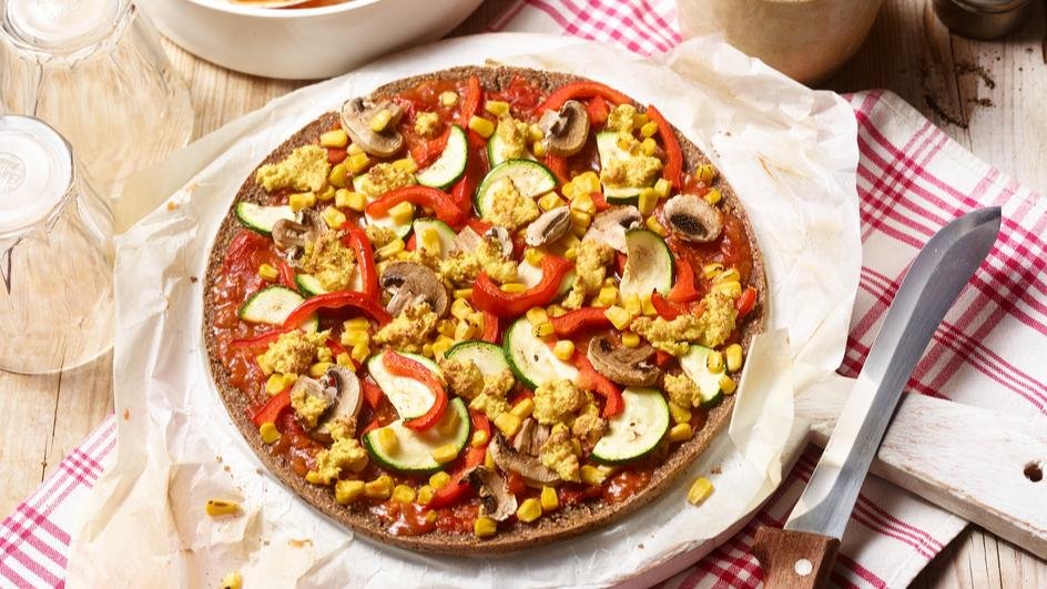 Quinoa-Pizza
