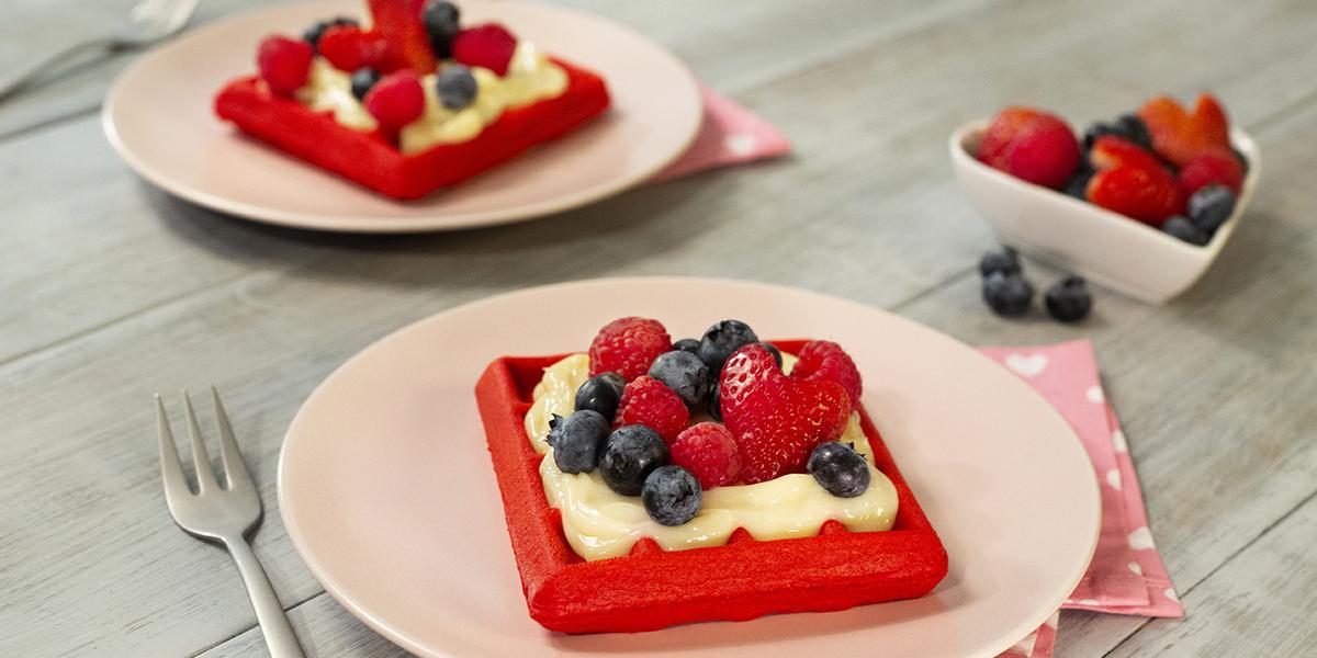 Waffle Red velvet