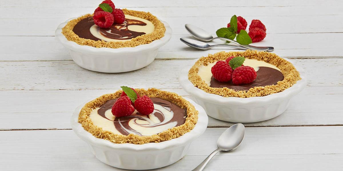 tarta de dos chocolate