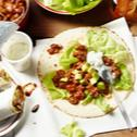 Chili-Wraps mit Avocado