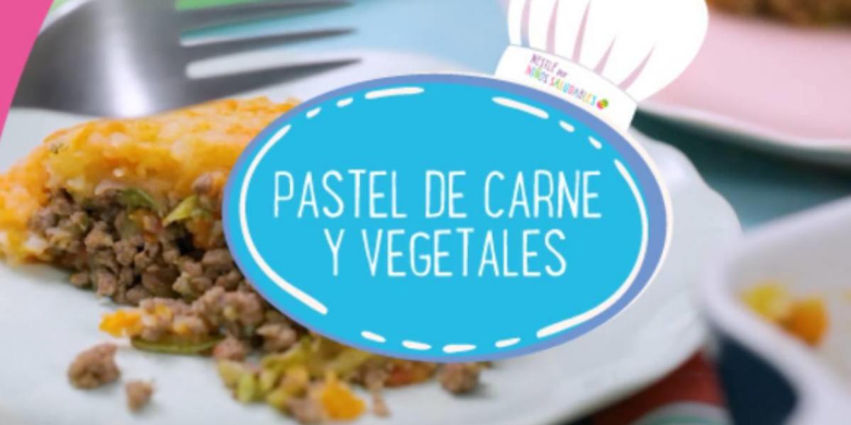 PASTEL DE CARNE Y VEGETALES