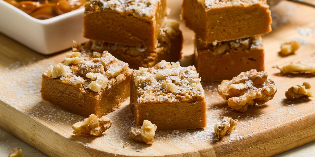 Calugas de Manjar y nuez tostada sin Lactosa