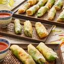 Reissalat-Röllchen