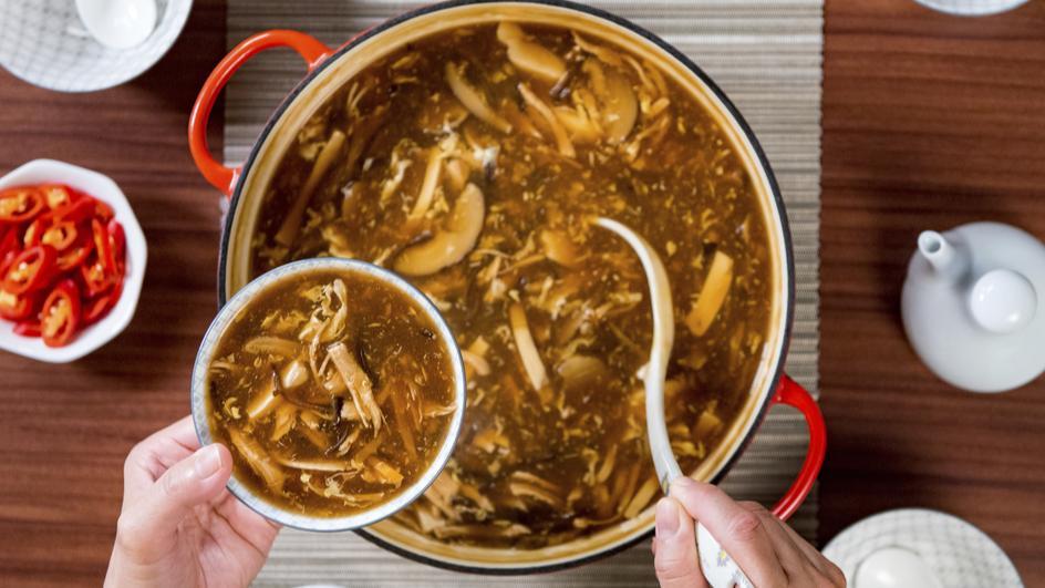 Sup Sichuan Pedas Masam