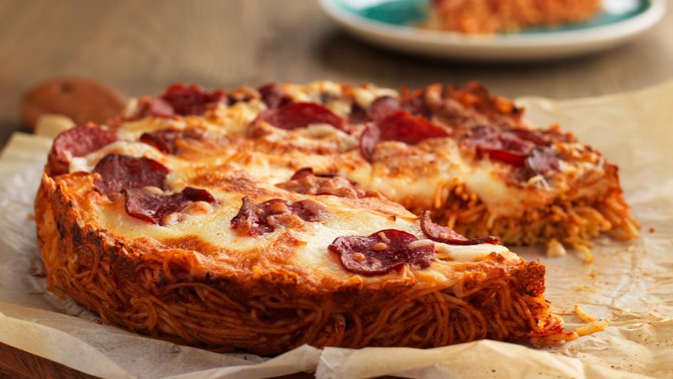 Pepperoni Pizza Bolognese