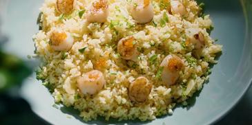 Nasi Goreng Kekapis Dengan Telur Ikan