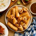 Lumpiang Gulay with Lechon