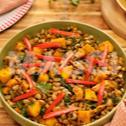 Green Leaf Beans Stew