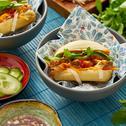 Bánh Mi - Vietnamesisches Sandwich