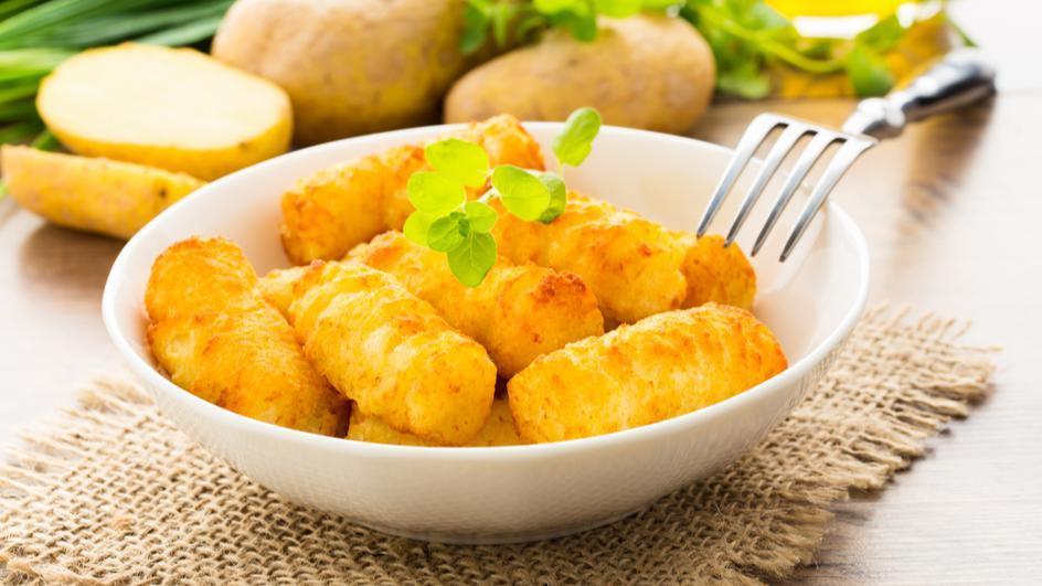 Soya Potato Rolls Recipe