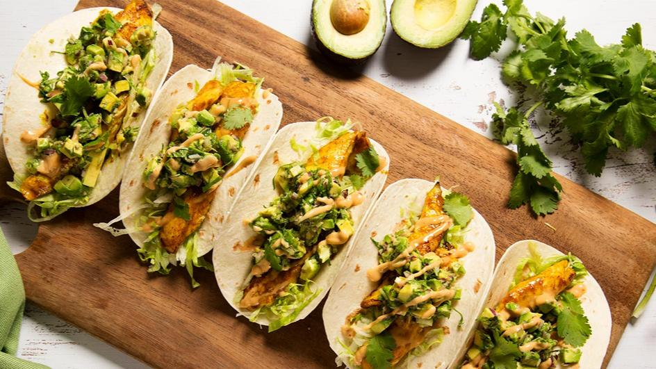 Chilli Chicken Tacos