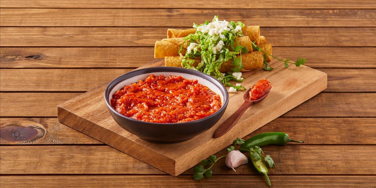 Salsa frita de tomate