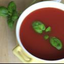 Pomidorowa zupa krem inspirowana Italią