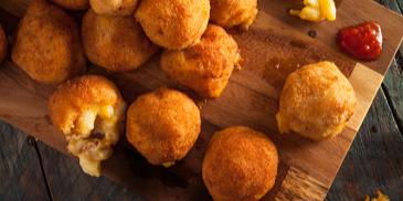 Kuglice od makarona s 4 vrste sira