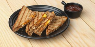Soya Potato Toastie Recipe