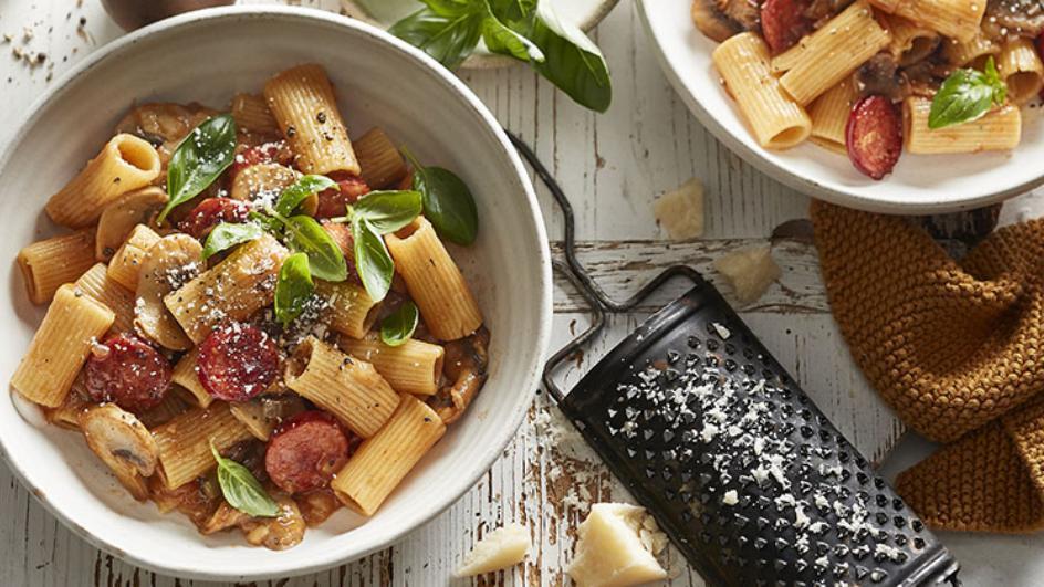 Chorizo & Tomato Rigatoni