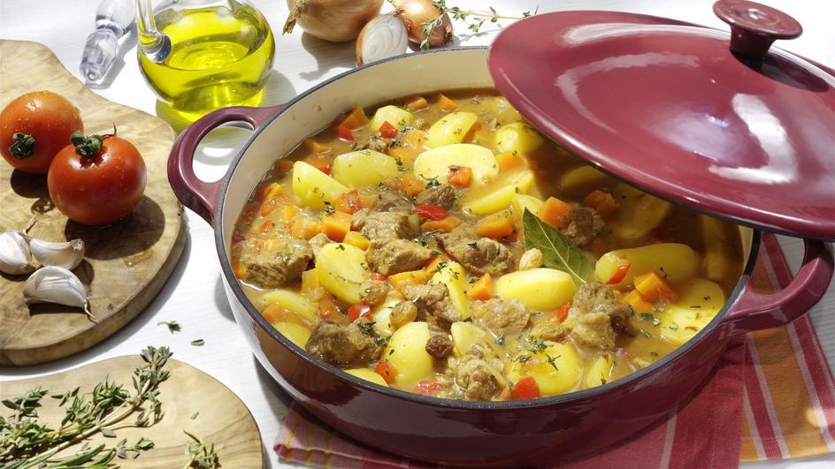 Kartoffeln mit Fleisch - Papas con Carne