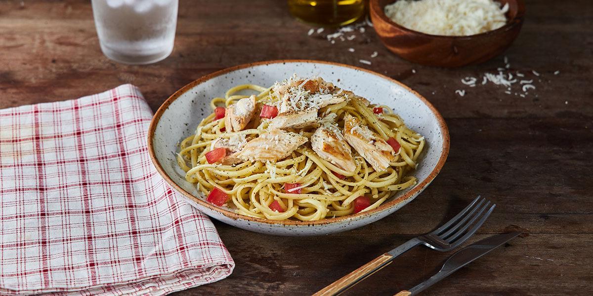 Spaghetti al Naturísimo