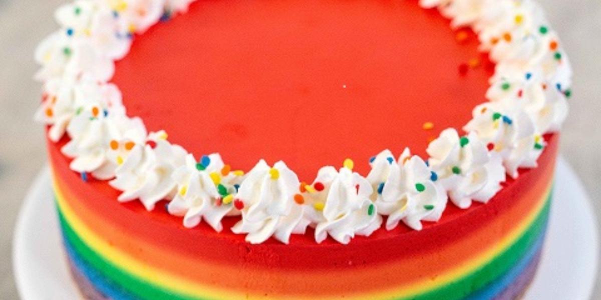 Cheesecake arcoiris
