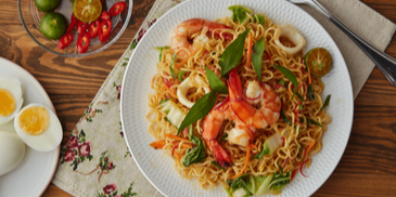 Penang Assam Laksa Fried MAGGI Mee