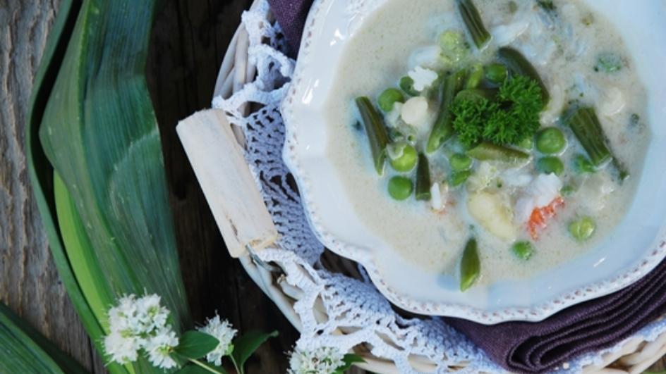 Zupa jarzynowa po tajsku