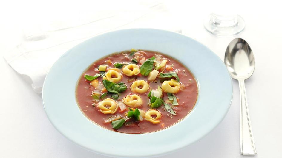 Pasta-tomatensoep