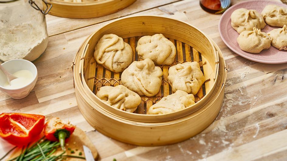 Baozi - Chinesische Teigtaschen