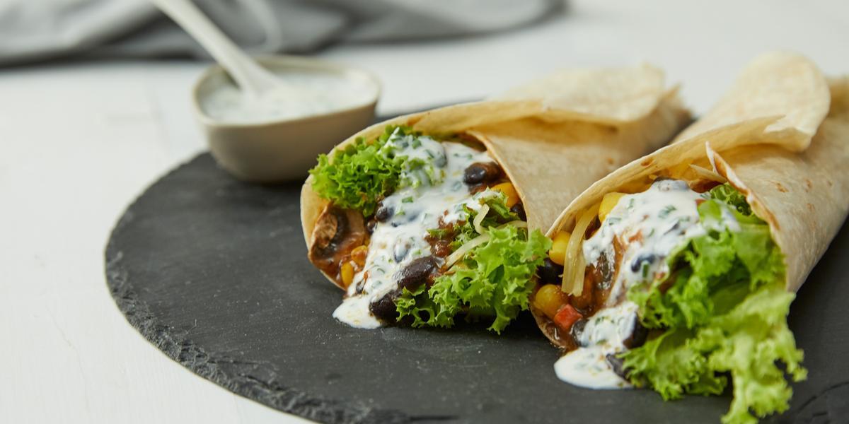 Burritos Veggie con Chili