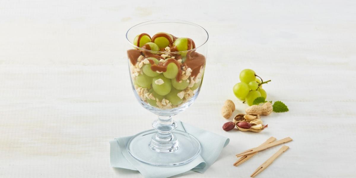 Botana de uvas