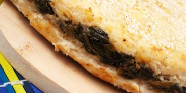 Солена торта с картофи и спанак