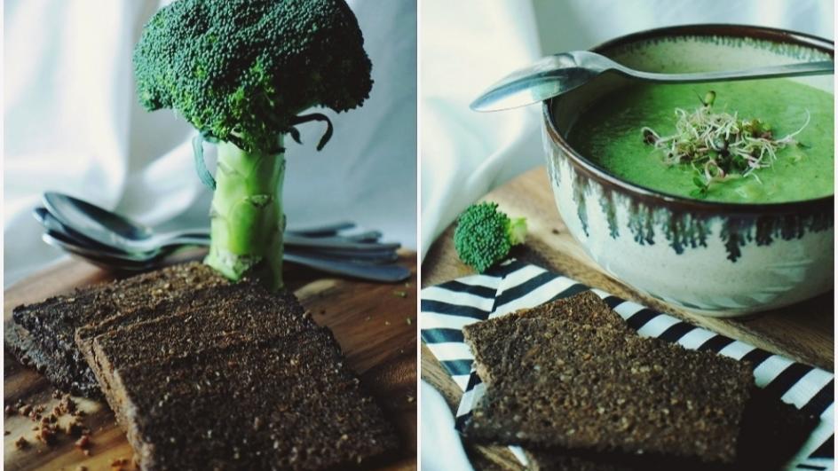 Dietetyczny krem z brokułów