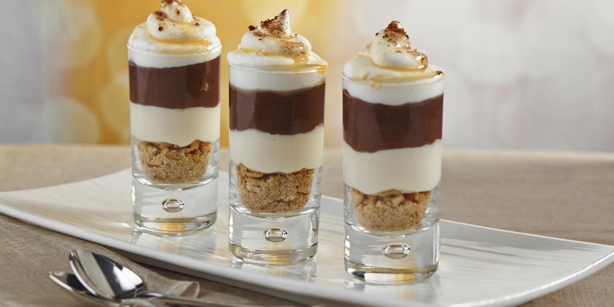 Chocolate Eclaire Shots