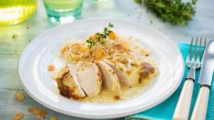 Maggi Fix für Zwiebel-Hühnerschnitzel