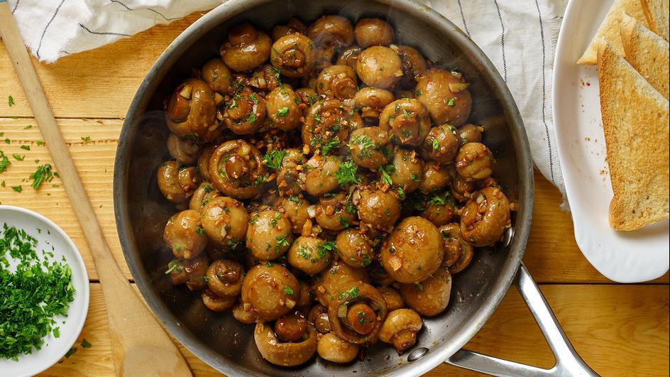 Savorventure Garlic Mushroom