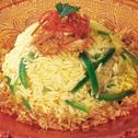 الأرز الأبيض على الطريقة العربية
