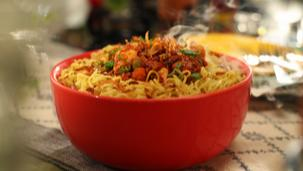 MAGGI Chicken Biryani Noodles Recipe