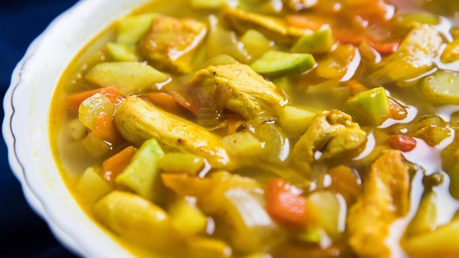 Zupa z brukwi na kurczaku