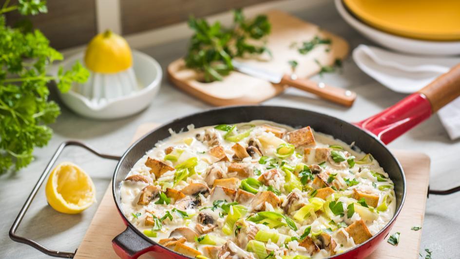 Tofu-Pilz-Ragout