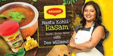 Naatu Kozhi Rasam – Using Maggi Chicken Seasoning Cubes