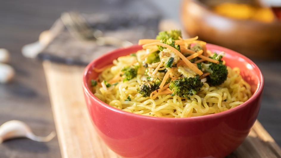Veggie Delight MAGGI Noodles Recipe