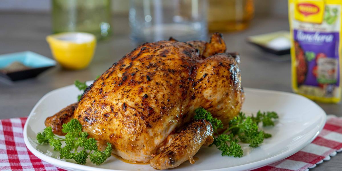 Pollo Relleno Horneado