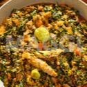 Sauce de Feuille de Taro aux Graines de Citrouille